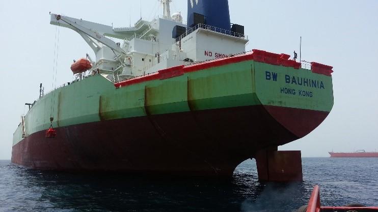 Guardian™ Anti-Piracy Barrier on Vessel